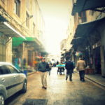 Souks in the old city of Nablus