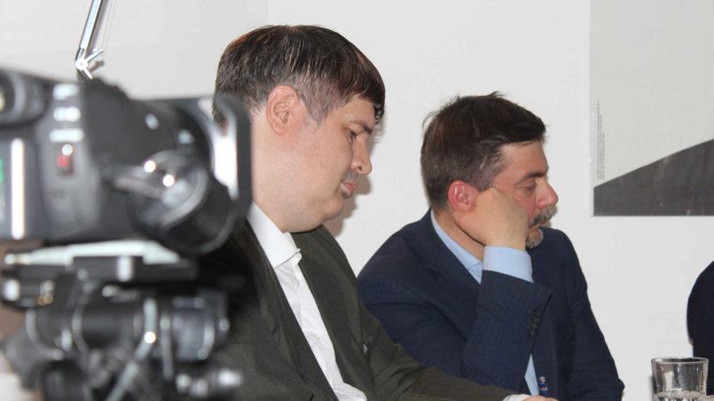f.l.t.r. Oliver Vujović und Roman Koval