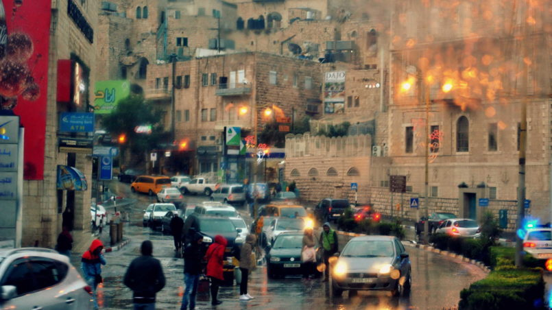 Straßen in Bethlehem