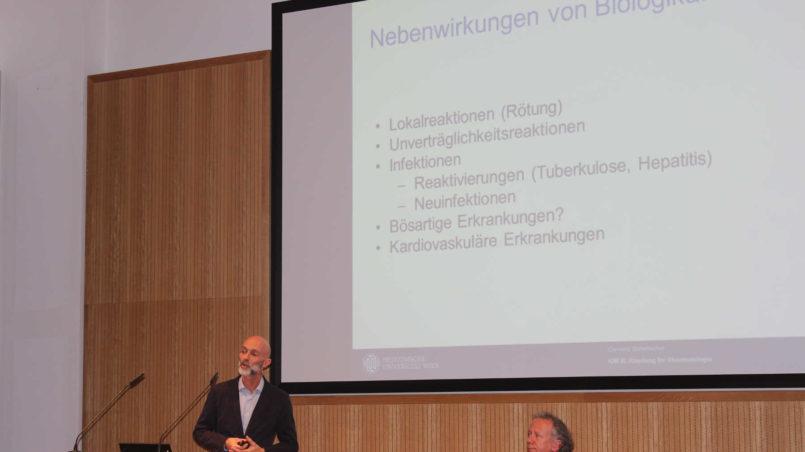 Prof. Scheinecker spricht über die Nebenwirkungen von Biologika