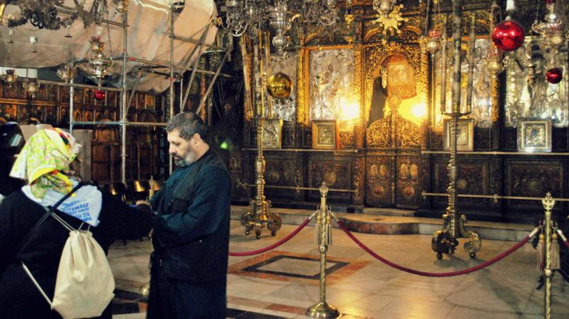 Im Inneren der Geburtskirche