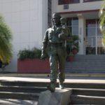 Cuba, Santa Clara, Estatua Che y Nino