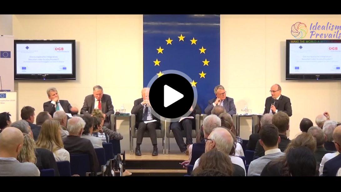 Diskussionsteilnehmer-Video