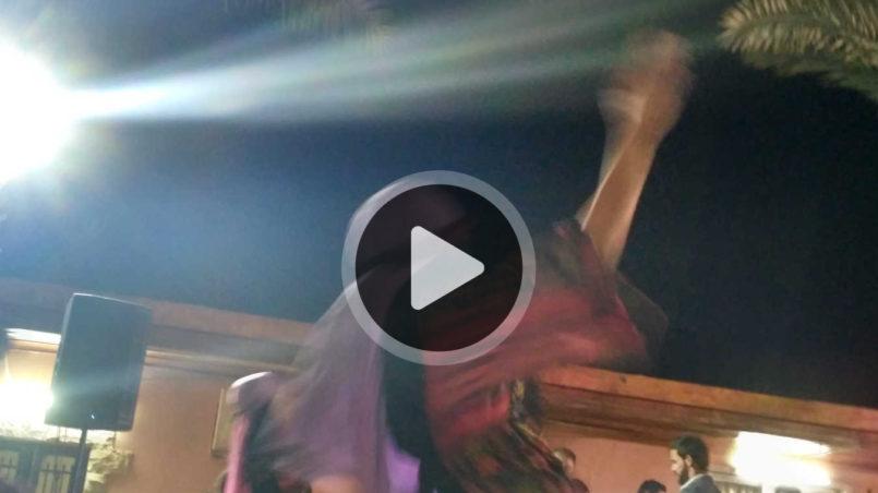 Lajee Dabka Dance Troupe from Palestine Tour Scotland 2013