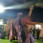 Palestinian girl performing Dabke Dance