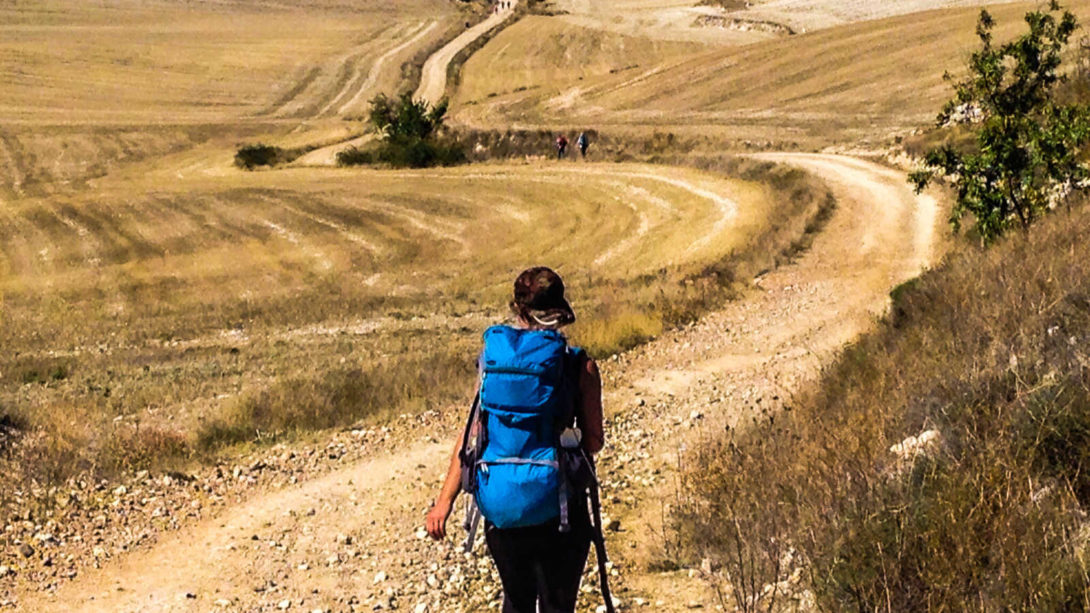 Camino de Santiago - Do not go where the path may lead, go instead where there is no path and leave a trail
