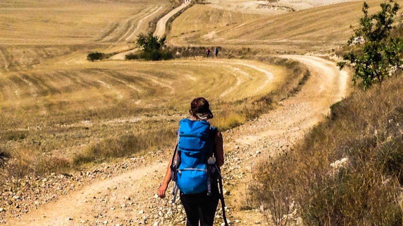 Camino de Santiago - Gehe nicht, wohin der Weg führt, sondern dorthin, wo kein Weg ist, und hinterlasse eine Spur.