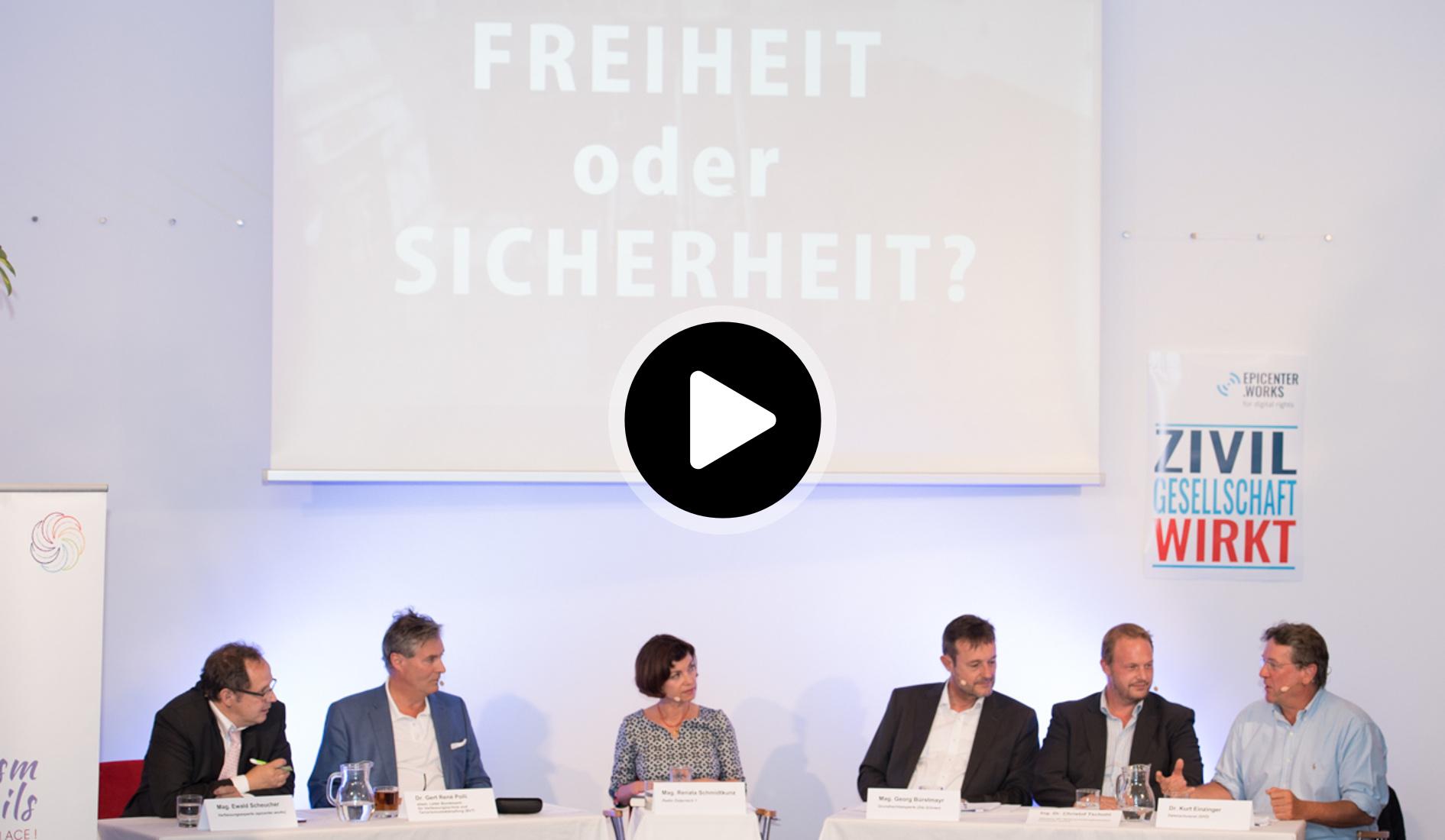 Diskussionsteilnehmer-Videobild