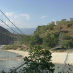 Bheri river and the suspension bridge that i crossed before meeting that old man.