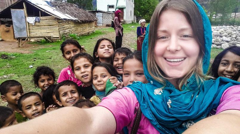 Als Freiwillige in Nepal 1