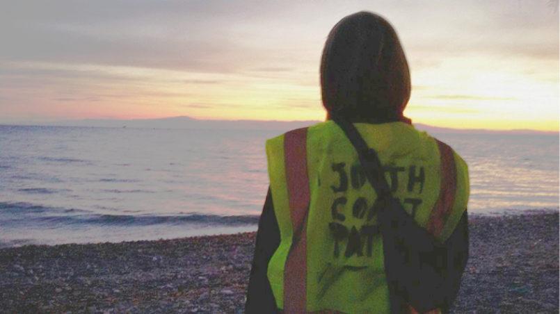 Als Freiwillige an der Küste