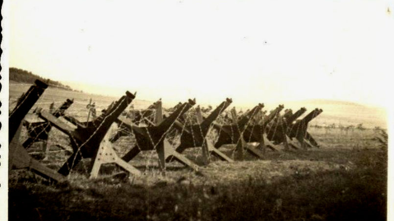 Slavonice im Krieg