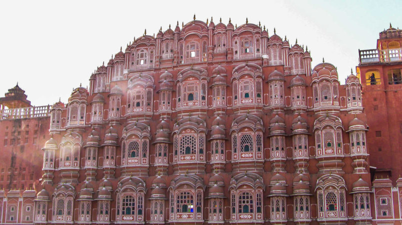 The Pink City, Hawa Mahal Palace, Jaipur,