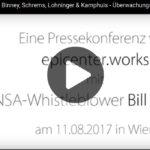 Pressekonferenz mit Bill Binney