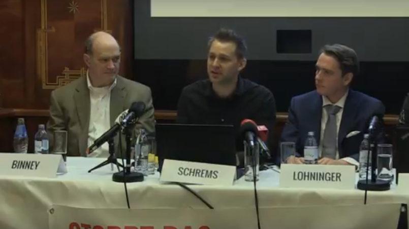 NSA Whistleblower Binney, Schrems, Lohninger & Kamphuis - Überwachungsstaat ante portas?