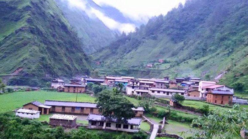 Ein winziger Versuch - Dorf