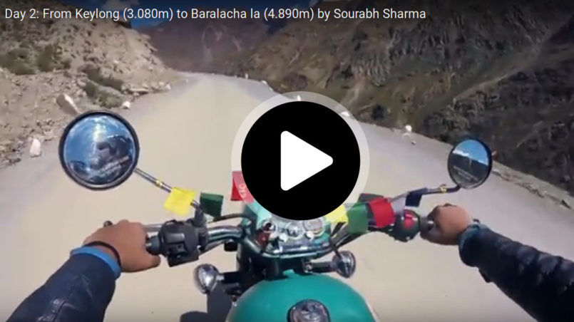 Day 2: From Keylong (3.080m) to Baralacha la (4.890m) by Sourabh Sharma