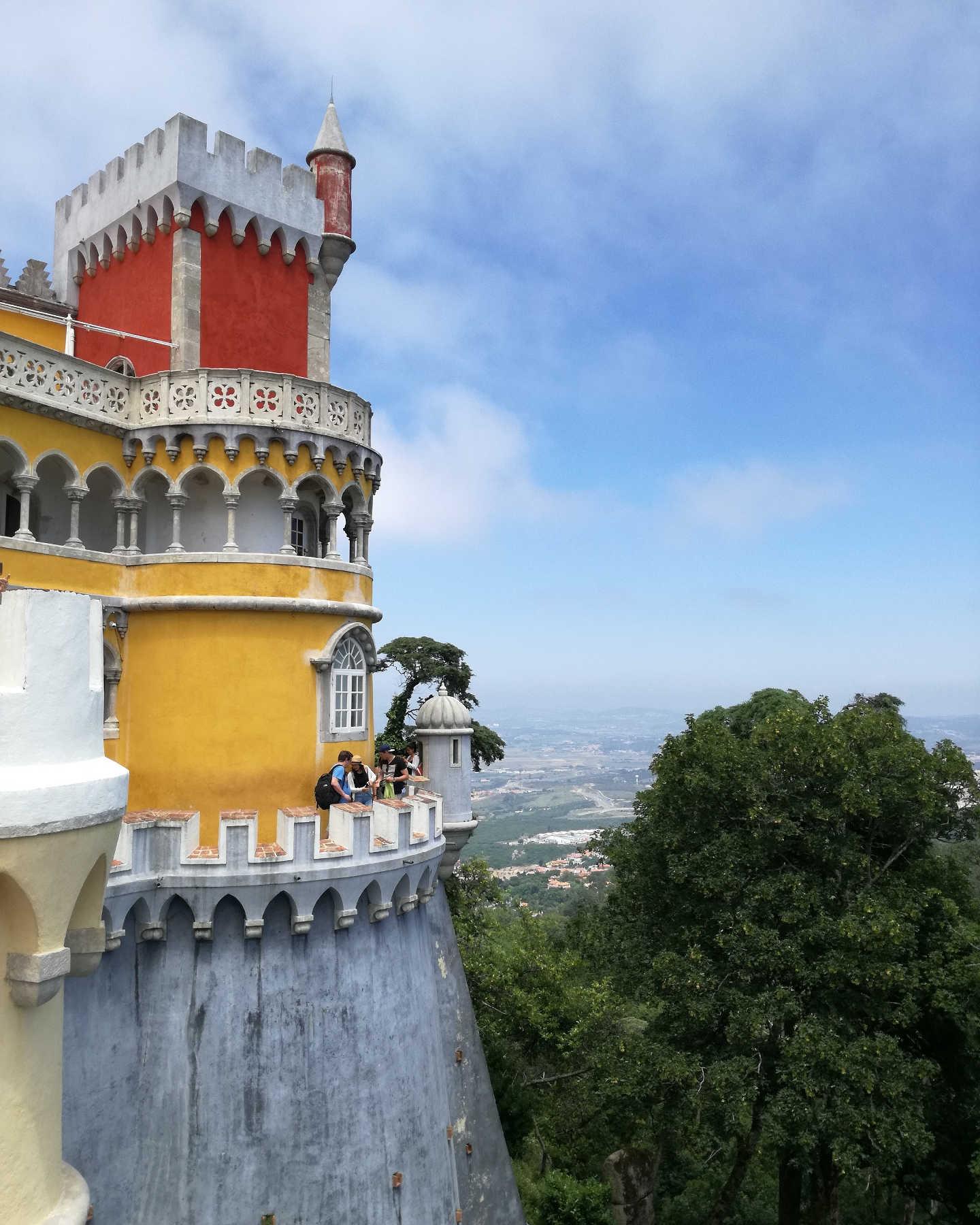 Ausflug nach portugal sintra and cascais idealism prevails for Architektur romantik