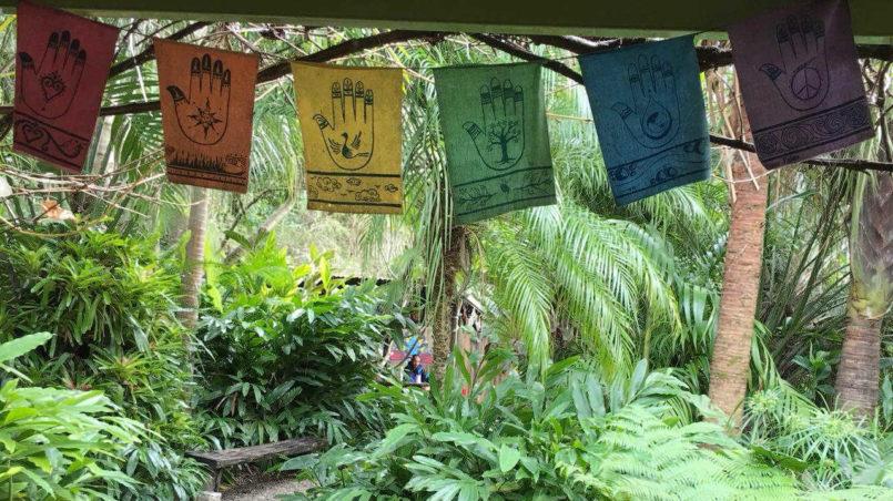 Hamsa Hand Flags