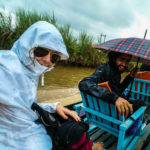 Exploring under the rain, Inle Lake, Myanmar