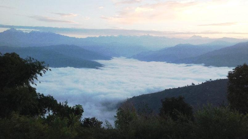Nepal - Wolkendecke