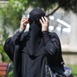 A women with Niqab