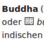 "Etymologie ""Buddha"""
