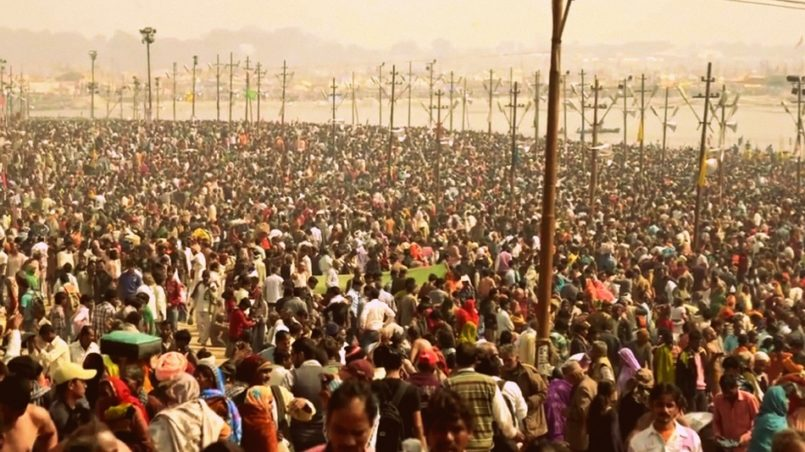 The gathering at Kumbh Mela