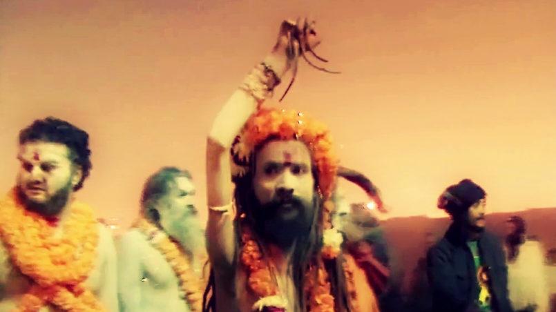 Yogis at Kumbh Mela 2