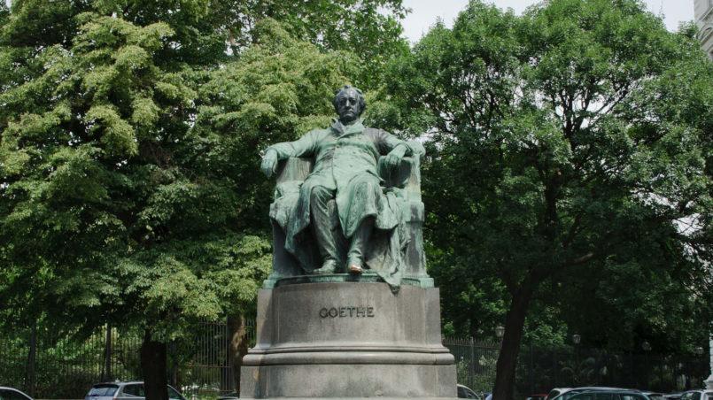 Goethe_monument_-_Vienna