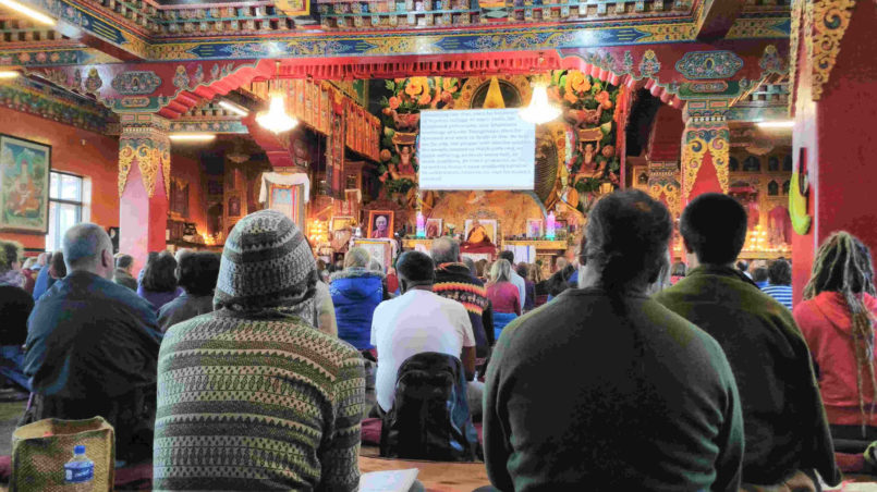03_Lecture bei Lama Zopa