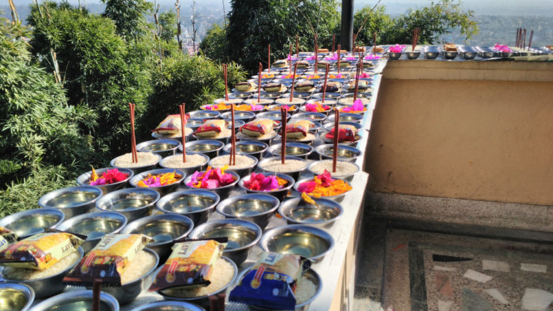 04_Offerings am Lama Tsongkhapa Tag-