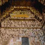 Bats at the entrance of the fort-