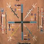 Gilcrease_-_Navajo_Sandpainting_Rug-
