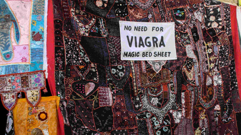 No NEED for VIAGRA magic bed sheet-