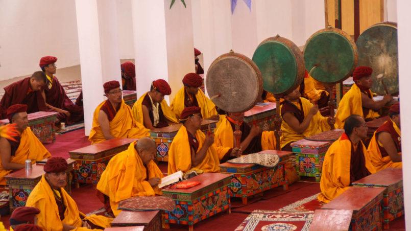 Chanting, Ladakh & Naropa festival