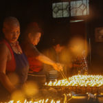 Dalai Lama temple, candle making, McLeodganj, Himachal Pradesh, India_edited