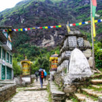 Mani stones, EBC trek, Nepal 2