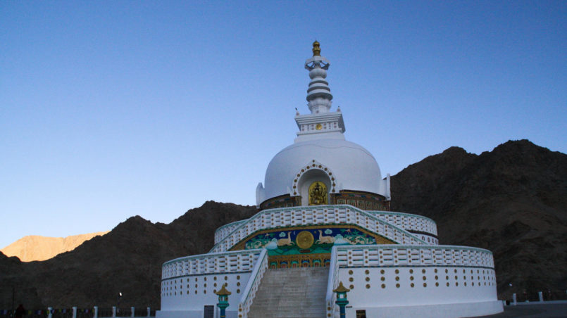 Shanti Stupa, Leh, Ladakh, India_edited