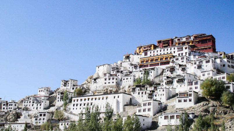 Thiksey Monastery, Leh, Ladakh, India_edited